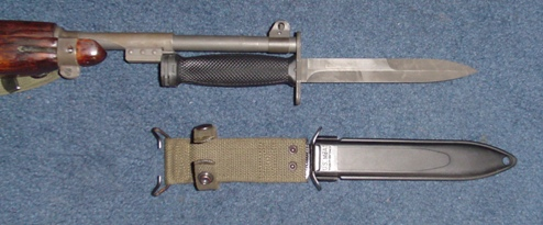 Us Model M4 Bayonet For The M1 Carbine