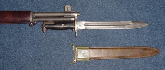 Danish Model GM50 Garand Bayonet